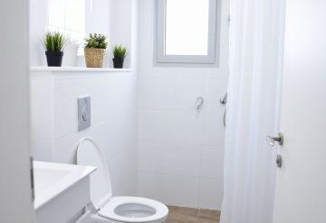 שירותים ומקלחת בדירה בפרויקט אלמוגים